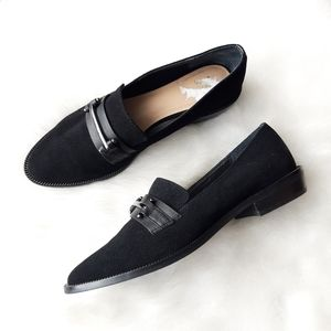 Joe's Jeans Suede Halee Loafer - Black